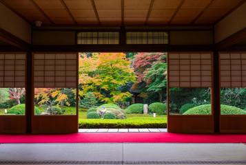 Fototapeten Tempel 日本庭園
