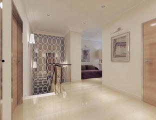 corridor neoclassical style