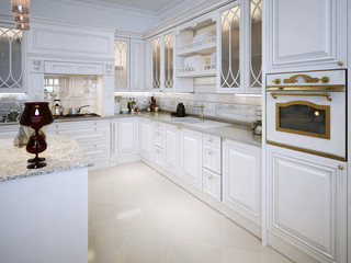 kitchen in classic style