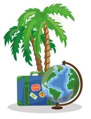 Путешествия мультфильм фон