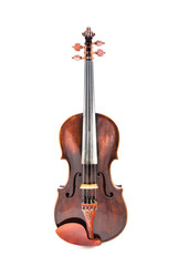 Violin or fiddle from the front side