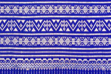 Thai sarong pattern.