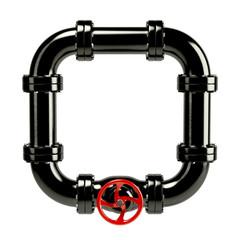 Closed pipe system loop