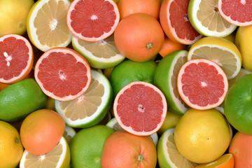 Wall Mural - Owoce cytrusowe 4