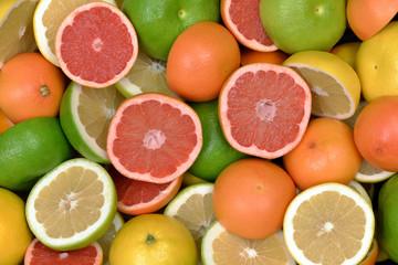 Wall Mural - Owoce cytrusowe 5