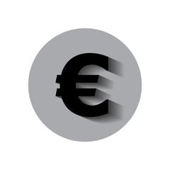 money bag euro icon