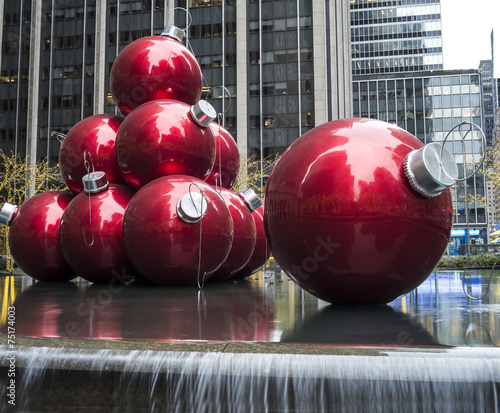 Giant Christmas Ornaments Stock Photo And Royalty Free Images On