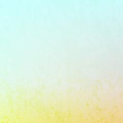 Yellow grunge light blue background texture