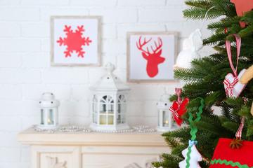 Christmas handmade decorations