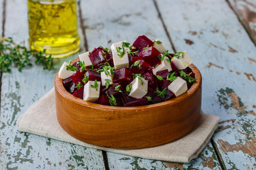Foto: beet salad and feta cheese