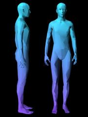 l3D human mode