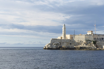 Havana Cuba Scenic Lighthouse View