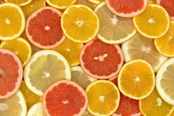 Wall Mural - Owoce cytrusowe 9