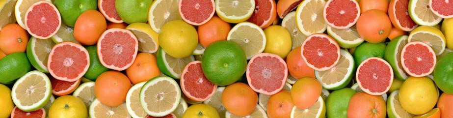 Wall Mural - Owoce cytrusowe 3