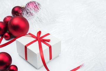 Gift and xmas balls