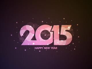 happy new year 2015 background design.