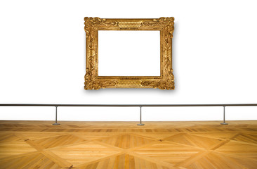 quadro vuoto al museo