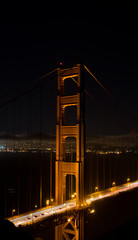 Vertical Image of The Golden Gate Bridge