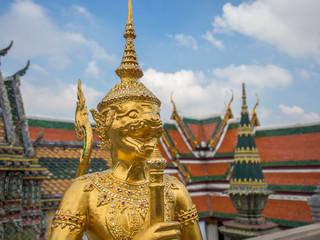 Wat Phra Kaeo. Bangkok
