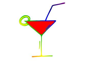 Cocktailglas - Silhouette