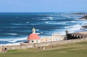 Old San Juan. Ocean view