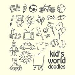 Kid's World Doodles