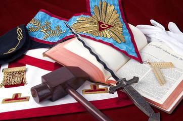 freemasonry symbolic objects of Worshipful MasteR