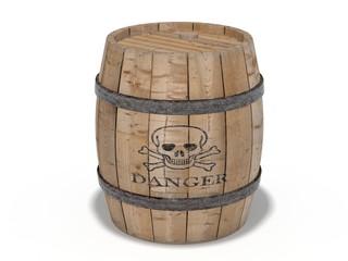 Gunpowder barrel