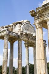 Roman tetrapylon gateway to the temple of Aphrodite