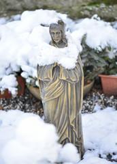 Jesus im Schnee