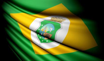 Flag of Brazil (Ceará)