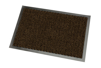 The doormat isolated on white background