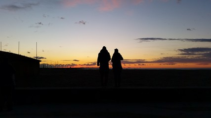 Aspetto il tramonto