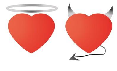 Heart Angel Devil