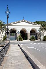 Eingang Monumentalfriedhof Staglieno, Genua
