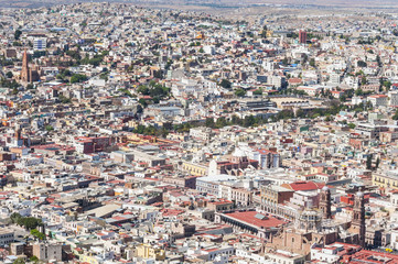 Zacatecas, colorful town in Mexico
