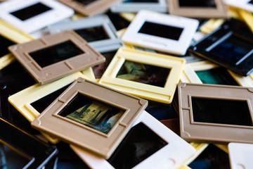 30 years old framed  film slides