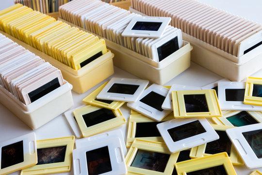 Photo archive of 35mm film slides