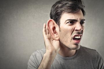 Deaf man