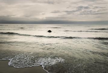 Grey Baltic sea.