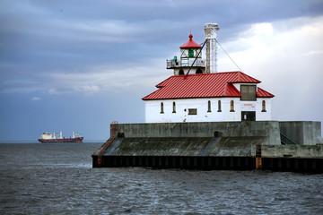 Lighthouse on Lake Superior, Duluth, Minnesota