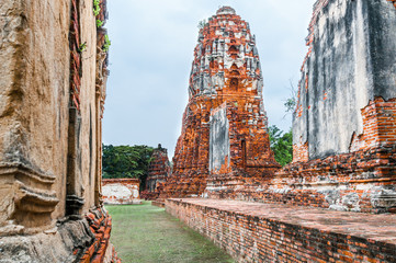 Wat Mahathat Temple, Ayutthaya