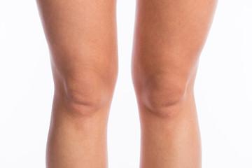 Nackte Mädchen auf Knien