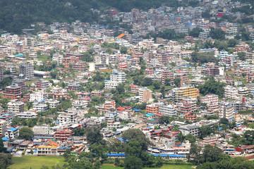 Settlement in Phokara Valley