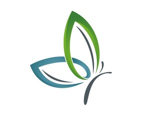 butterfly logo template v.4