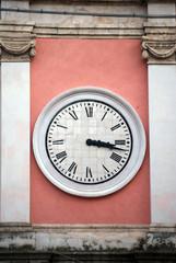 Clock with Roman numerals