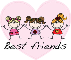 best friends girls friendship