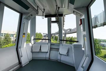 Skytrain interior