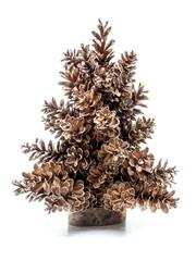 Spruce cone Christmas tree