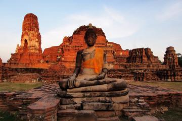 old buddha image